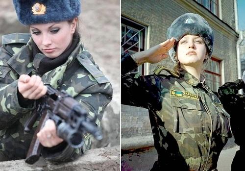 عکس زنان نظامی اوکراین