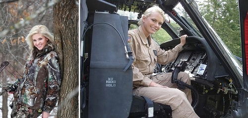 عکس زنان نظامی آمریکا