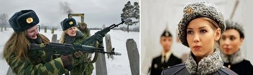 عکس زنان نظامی روسیه