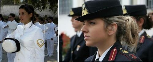 عکس زنان نظامی یونان