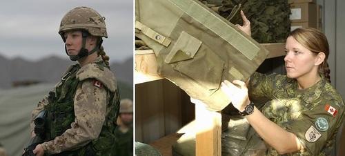 عکس زنان نظامی کانادا