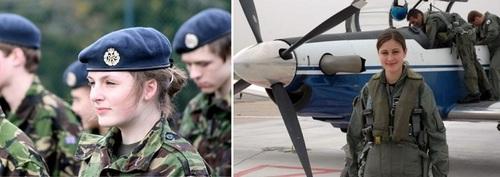 عکس زنان نظامی جمهوری چک