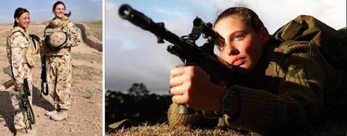 زنان نظامی در کشورهای مختلف! + تصاویر
