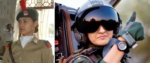 عکس زنان نظامی پاکستان